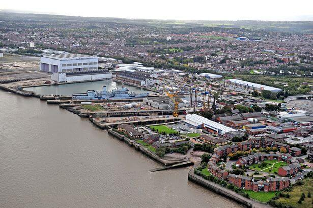 Aerial Shot of Wirral